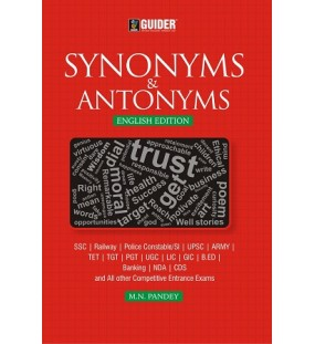 Synonyms and Antonyms-English Edition