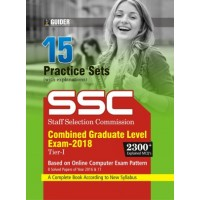 SSC CGL Tier - I 15 Practice Sets Exam 2018 English