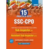 SSC CPO SI, ASI 15 Practice Sets Entrance Exam 2018 English