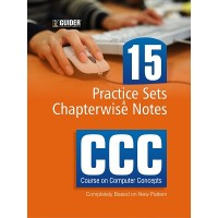 CCC Course on Computer Concepts 15 Practice Sets and Chapterwise Notes English