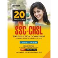 SSC CHSL 10 Plus 2 20 Practice Sets Exam 2019 English