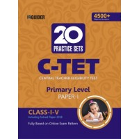 C-TET 20 Practice Sets  Class I-V Paper Ist Primary Level English