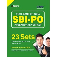 SBI PO 23 Practice Sets Pre Exam 2019 English