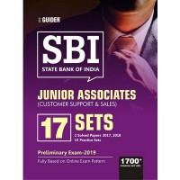SBI Junior Associates 17 Practice Sets Pre Exam 2019 English