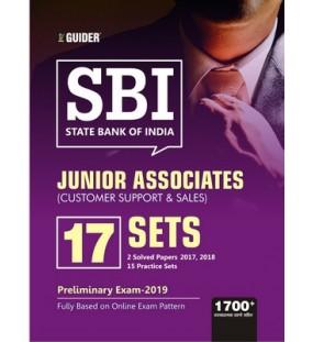 SBI Junior Associates 17 Practice Sets Pre Exam 2019 English