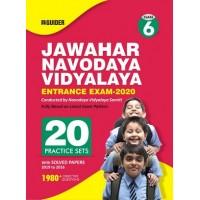 Jawahar Navodaya Vidyalaya Class 6th 20 Practice Sets Entrance Exam 2020 E