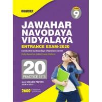 Jawahar Navodaya Vidyalaya Class 9th 20 Practice Sets Entrance Exam 2020  E