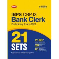 IBPS CRP-IX Bank Clerk 21 Sets Pre Exam 2020 English