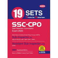SSC-CPO SI 19 Sets Exam 2020 English
