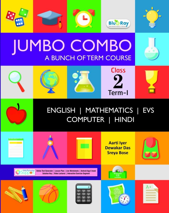 Jumbo Combo Class 2 Sem I With Hindi Children Choice Web Animation Support