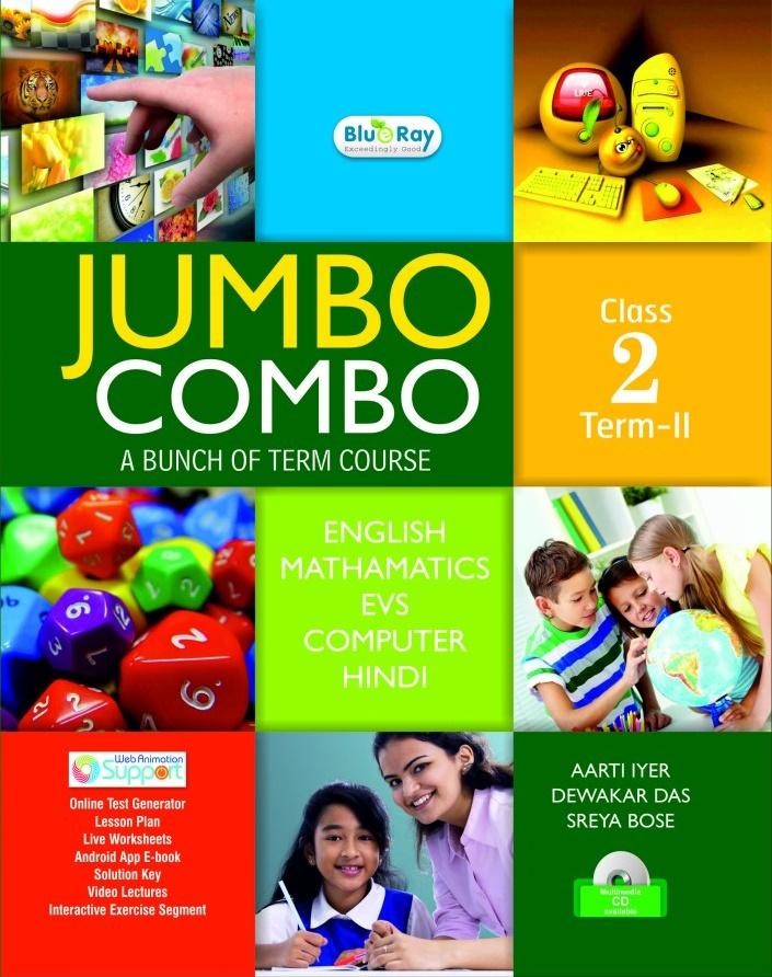 Jumbo Combo Class-2-Sem-II With Hindi – Children Choice Web